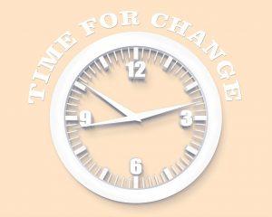tiempos de cambio, evolucion