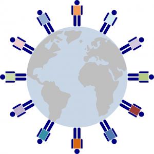 economía global, clientes a nivel mundial, INTERNET