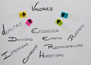 valores y principios, emprender online