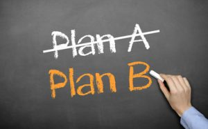 dejar plan A, empezar plan B