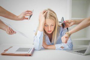 empresaria tradicional, estrés,