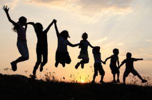 armonía, propósito, alegría